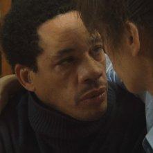 Joey Starr in una scena del film Polisse insieme a Maïwenn Le Besco