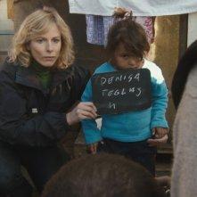 Karin Viard in una scena del film Polisse