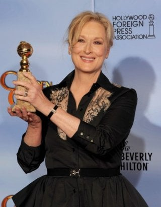 Meryl Streep, miglior attrice drammatica per The Iron Lady ai Golden Globes 2012