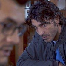 Sulla strada di casa: Daniele Liotti in una drammatica scena del film con Vinicio Marchioni