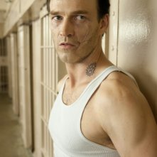 The Double: Stephen Moyer in prigione in una scena del thriller