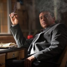 The Double: Tamer Hassan in una scena del film