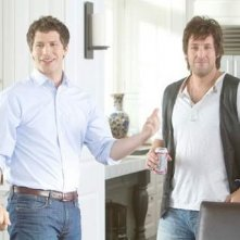 Andy Samberg e Adam Sandler in una scena di That's my Boy