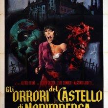 Gli orrori del castello di Norimberga: Locandina italiana del film