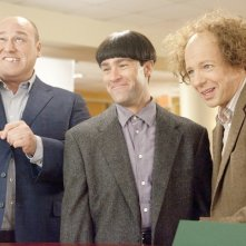 Sean Hayes, Will Sasso e Chris Diamantopoulos, protagonisti di The Three Stooges