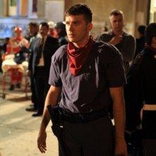 Diaz - Non pulire questo sangue: Alessandro Roja in una scena del film