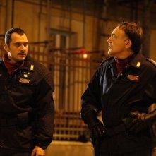 Diaz - Non pulire questo sangue: Claudio Santamaria è l'agente Max Flamini in una scena del film
