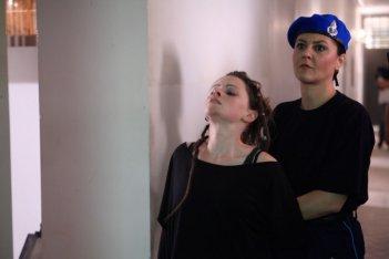 Diaz: Jennifer Ulrich in una scena tratta dal film diretto da Daniele Vicari