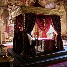 La figlia di Elisa ritorno a Rivombrosa - scenografia camera Lucrezia Van Necker realizzata da Giuseppe Pirrotta