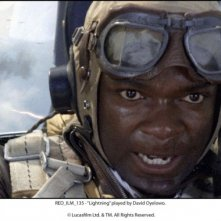 Red Tails: David Oyelowo in una scena del film