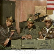 Red Tails: Tristan Wilds, Nate Parker e David Oyelowo in una scena
