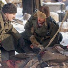 Silencio en la nieve: Juan Diego Botto insieme ad altri interpreti della pellicola