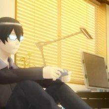hack The Movie (2012) una immagine del film d'animazione giapponese