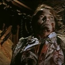 Luciano Pigozzi in una sequenza de Gli orrori del castello di Norimberga