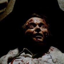 Luciano Pigozzi in una sequenza dell'horror Gli orrori del castello di Norimberga