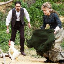 La scomparsa di Patò: Neri Marcoré e Alessia Cardella in una scena del film