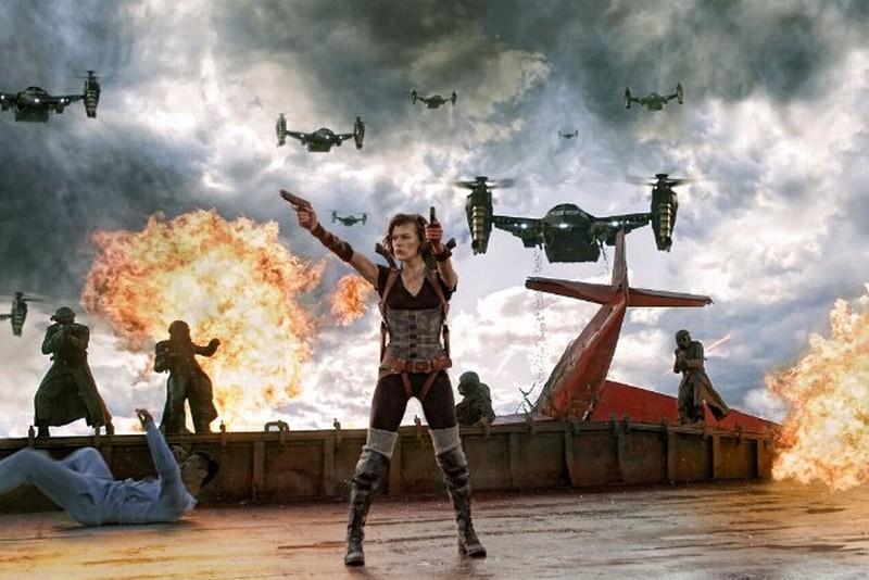 Milla Jovovich nella prima immagine di Resident Evil: Retribution, quinto capitolo della saga
