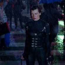 Resident Evil: Retribution, Milla Jovovich in una scena del quinto film della saga