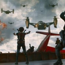 Resident Evil: Retribution (2012) una scena del film