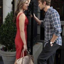 Gossip Girl: Elizabeth Hurley e Chace Crawford in una scena dell'episodio Beauty and the Feast