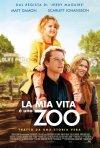 La mia vita è uno zoo: la locandina italiana del film