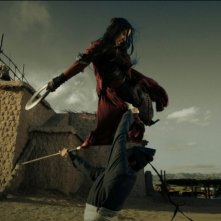 The Flying Swords of Dragon Gate: Lunmei Kwai in un'acrobatica scena del film