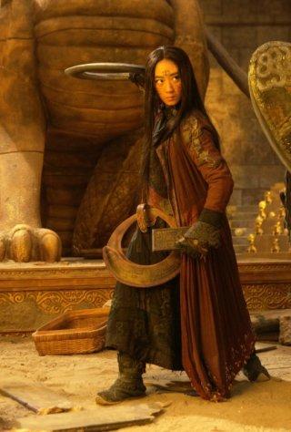 The Flying Swords of Dragon Gate: Lunmei Kwai in una scena del film