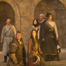 The Flying Swords of Dragon Gate: una scena del film