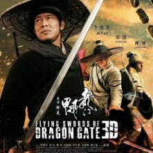The Flying Swords of Dragon Gate: uno dei poster del film con Jet Li