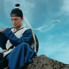 The Flying Swords of Dragon Gate: Xun Zhou in una scena del film