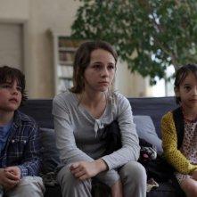 Arauna Bernheim-Dennery, Nina Rodriguez, Nicolas Rompteaux in Les papas du dimanche (2012)