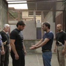 Cesare deve morire: Antonio Frasca e Salvatore Striano in una scena del film