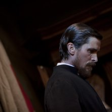 Christian Bale in un'immagine tratta dal film The Flowers of War