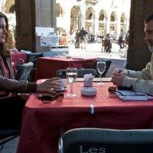 Gina Carano e Antonio Banderas in una scena di Knockout - Resa dei conti