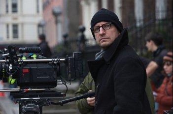 Il regista Steven Soderbergh sul set di Knockout - Resa dei conti