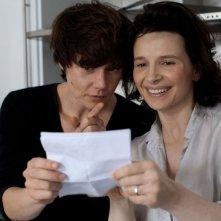 Juliette Binoche nel film Elles con Malgorzata Szumowska
