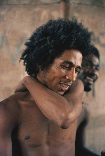 Marley: Bob Marley in una scena del film di Kevin Macdonald