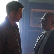 Alcatraz: Jeffrey Pierce e Jonny Coyne nell'episodio Kit Nelson