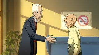 Arrugas (2012) una sequenza del film d'animazione