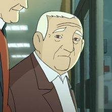 Arrugas (2012) uno degli anziani protagonisti del film