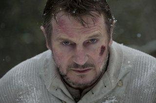 Liam Neeson è il protagonista di The Grey del 2012