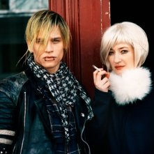 Glück: Alba Rohrwacher in una foto promozionale del film insieme a Vinzenz Kiefer
