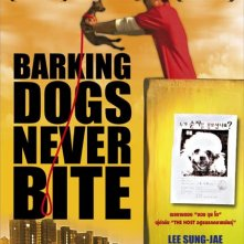 Barking Dogs Never Bite: la locandina del film