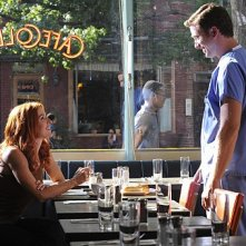Unforgettable: Chad Lindsey e Poppy Montgomery nell'episodio Up In Flames