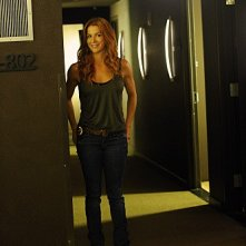 Unforgettable: Poppy Montgomery in una scena dell'episodio Check Out Time