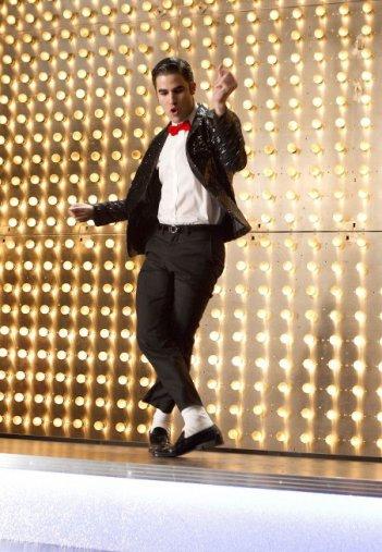 Glee: Darren Criss nell'episodio Michael