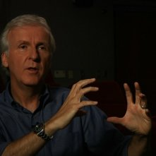James Cameron in una scena del documentario Side by Side