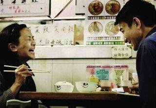 A Simple Life (Tao Jie): Deanie Yip insieme ad Andy Lau in una divertente scena del film