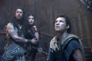 Sam Worthington in una scena de La furia dei Titani