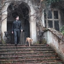 Un'immagine di Daniel Radcliffe tratta dal film The Woman in Black